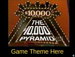 10 000 pyramid powerpoint game show template by teacher stuff 123