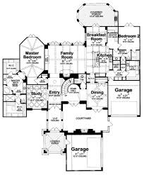 courtyard garage house plans european style house plan 4 beds 5 00 baths 4629 sq ft plan 20 1731