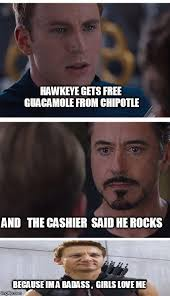 Hawkeye Meme - 35 funniest hawkeye memes that will make you laugh out loud
