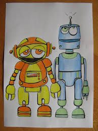 the craft arty kid old blog robot craft session