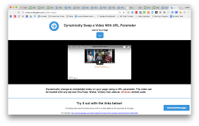 Google Maps Url Parameters How To Dynamically Swap An Embedded Video With Url Parameters