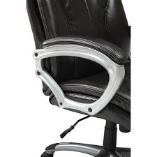 big tall high back charcoal fabric executive chair with padded