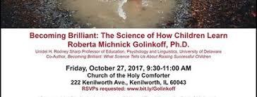Church Of The Holy Comforter Kenilworth Roberta Michnick Golinkoff