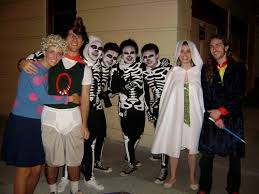 Karate Kid Skeleton Costume Patti Mayonnaise And Doug As Quailman Occasions And Holidays