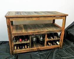 sofa table with wine rack 50 rustic tv stand or sofa table wine glass rack barn