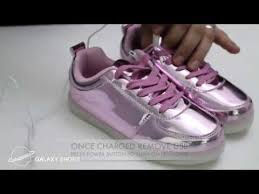 galaxy shoes light up how to charge led light up sneakers led shoes light up shoes youtube