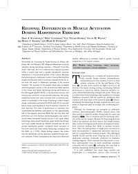 regional differences in muscle activation during hamstrings