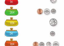 kindergarten money worksheets u0026 free printables education com