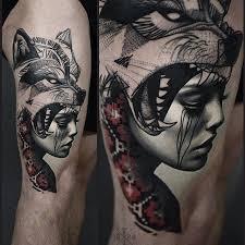 the 25 best wolf tattoos ideas on pinterest wolf headdress
