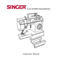 singer 9805 manuals