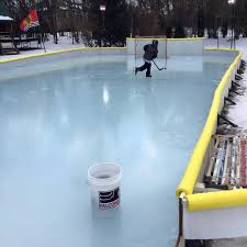 How To Make An Ice Rink In Your Backyard Nicerink Backyard Ice Rink Kit Noveltystreet