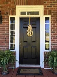Front Door Metal Decor Pineapple Front Door Wreath Front Door Decor Pineapple