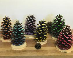 Pine Cone Wedding Table Decorations Pine Cone Decoration Etsy