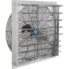 fire rated exhaust fan enclosures exhaust fans with guard mounts or shutters global industrial