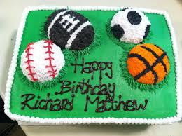 sports balls cake my work pinterest sport cakes birthday