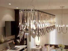 Cutlery Chandelier Hand Crafted Silver Plated Cutlery Chandelier Love Of My Light