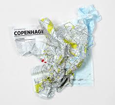 Montreal Underground City Map Crumpled City U2013 Palomar