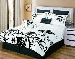Black And White Bed Gray Black And White Paisley Bedding Stunning Black And White