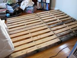 Making A Platform Bed Out Of Pallets by Hey Little Momma P Is For Platform Bed