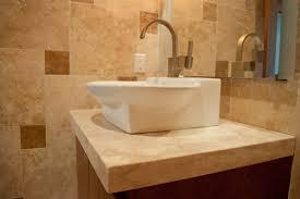 Travertine Bathroom Floor Interior Natural Stone Countertops Kitchen Bathroom Flooring