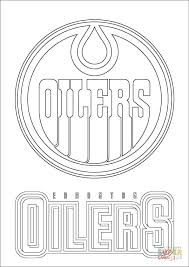 edmonton oilers logo coloring free printable coloring pages