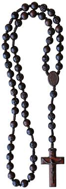 mens rosary jujube wood rosary for men brown on cord r3655 rosarycard net