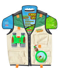 amazon com nature bound cargo vest for kids with zipper 4