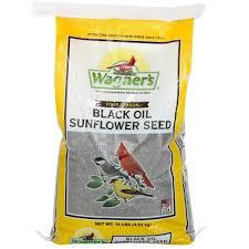wagner u0027s four season 10 lb black oil sunflower seed 25024 the