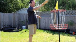 homemade or store bought disc golf basket for backyard youtube