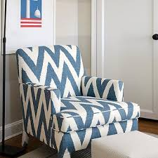 chevron chair contemporary u0027s room sally wheat interiors