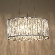 Drum Light Pendant Stylish Drum Chandelier With Crystals 17 Best Ideas About Crystal