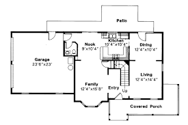 floor plans for country homes new country floor plans house small cottage with porches ranch one