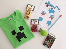 thank you pinterest for all the great minecraft goodie bag ideas