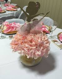 Centerpieces Birthday Tables Ideas by Best 25 Ballerina Centerpiece Ideas On Pinterest Ballerina Baby