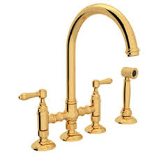 rohl country kitchen bridge faucet rohl kitchen faucets faucet com