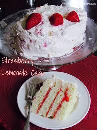 strawberry lemonade cake recipe for my birthday strawberry