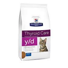 hill u0027s prescription diet y d thyroid care original dry cat food