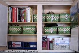 Organising Kitchen Cabinets Chic On A Shoestring Decorating How To Organize A Command Station