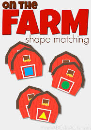 on the farm shape matching from abcs to acts