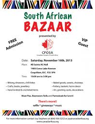 canadian friends of south africa cfosa events