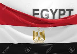 Eygpt Flag Egypt Flag And Country Name Stock Photo Picture And Royalty Free