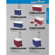 island breeze cooler red 48 qt walmart com