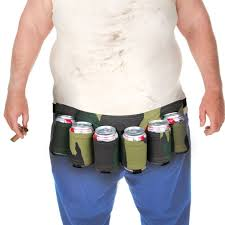 amazon com bigmouth inc beer belt 6 pack holster camo