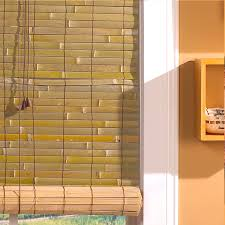 Roll Up Patio Screen by Bamboo Window Shades Window Treatments Good Idea For My Kitchen
