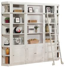 Bookcase Ladder Hardware Wall Units Extraordinary Library Wall Unit Cool Library Wall