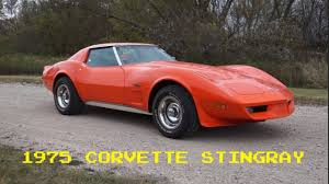1975 corvette stingray for sale it s cool stuff 1975 corvette stingray for sale with just 48k