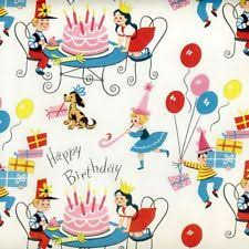 vintage wrapping paper retro wrapping paper ebay