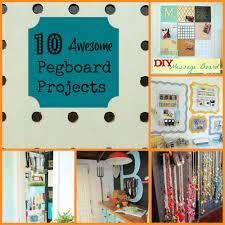 pegboard decorating ideas home design website ideas