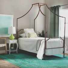bedroom canopy bed frame queen 4 poster bed canopy curtains bed