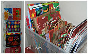 how to store wrapping paper and gift bags tis the season for gift wrapping gift wrap organization